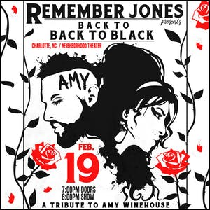back to BACK TO BLACK: Amy Winehouse Tribute ft. Remember Jones + 12 piece