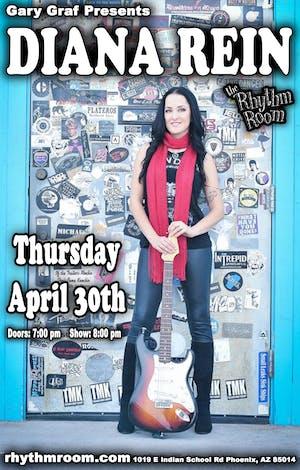 Diana Rein at The Rhythm Room