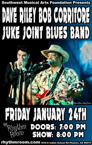 Dave Riley / Bob Corritore Juke Joint Blues Band
