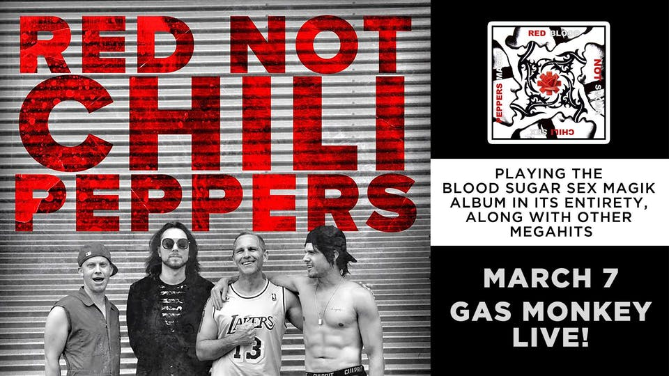 Red Not Chili Peppers (Red Hot Chili Peppers Tribute)