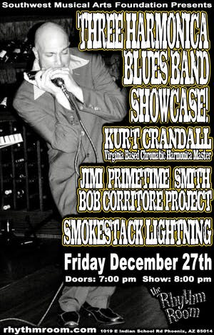 Three Harmonica Blues Band Showcase!