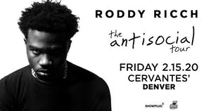 Roddy Ricch - The Anti Social Tour