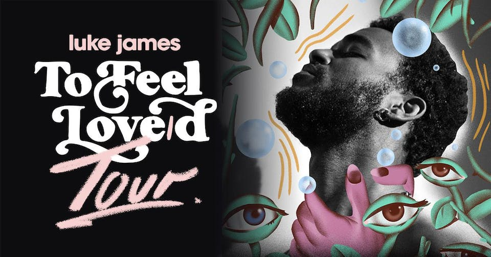 to feel love/d at Union Stage with Luke James