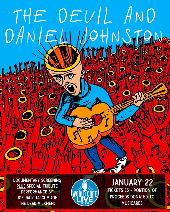 The Devil and Daniel Johnston: Documentary Screening
