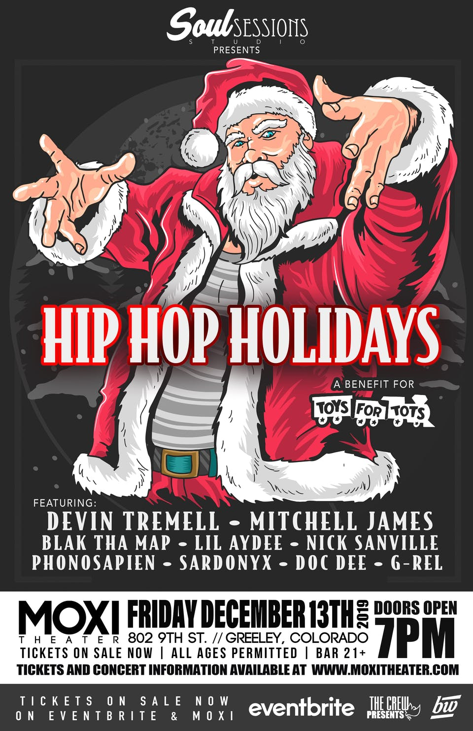 Hip Hop For The Holidays - A Benefit for Toys for Tots