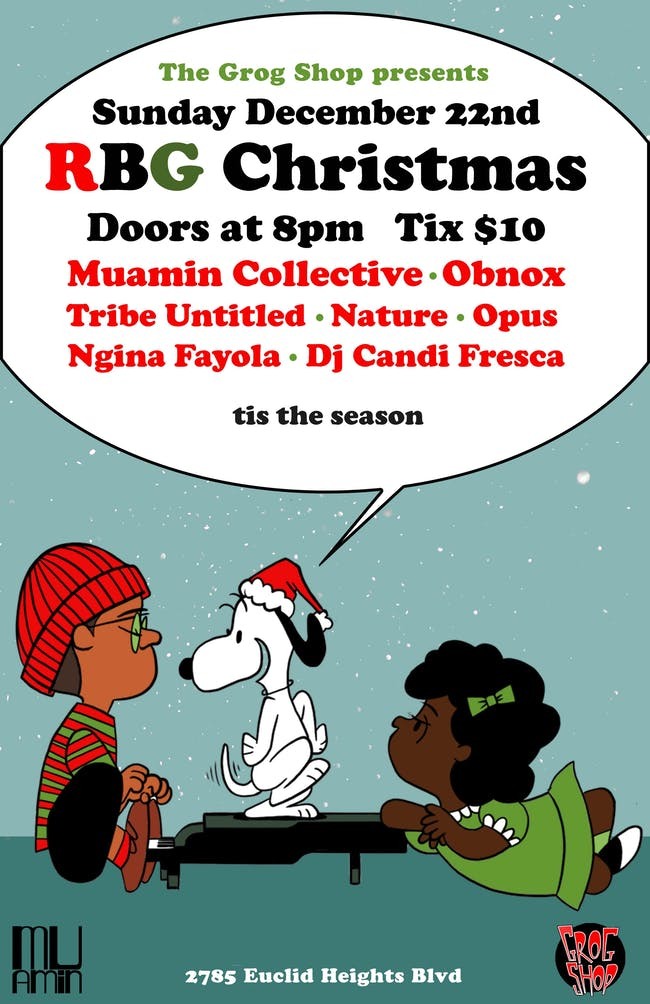 Red Black and Green Christmas ft. Muamin Collective / Obnox / Opus / + More