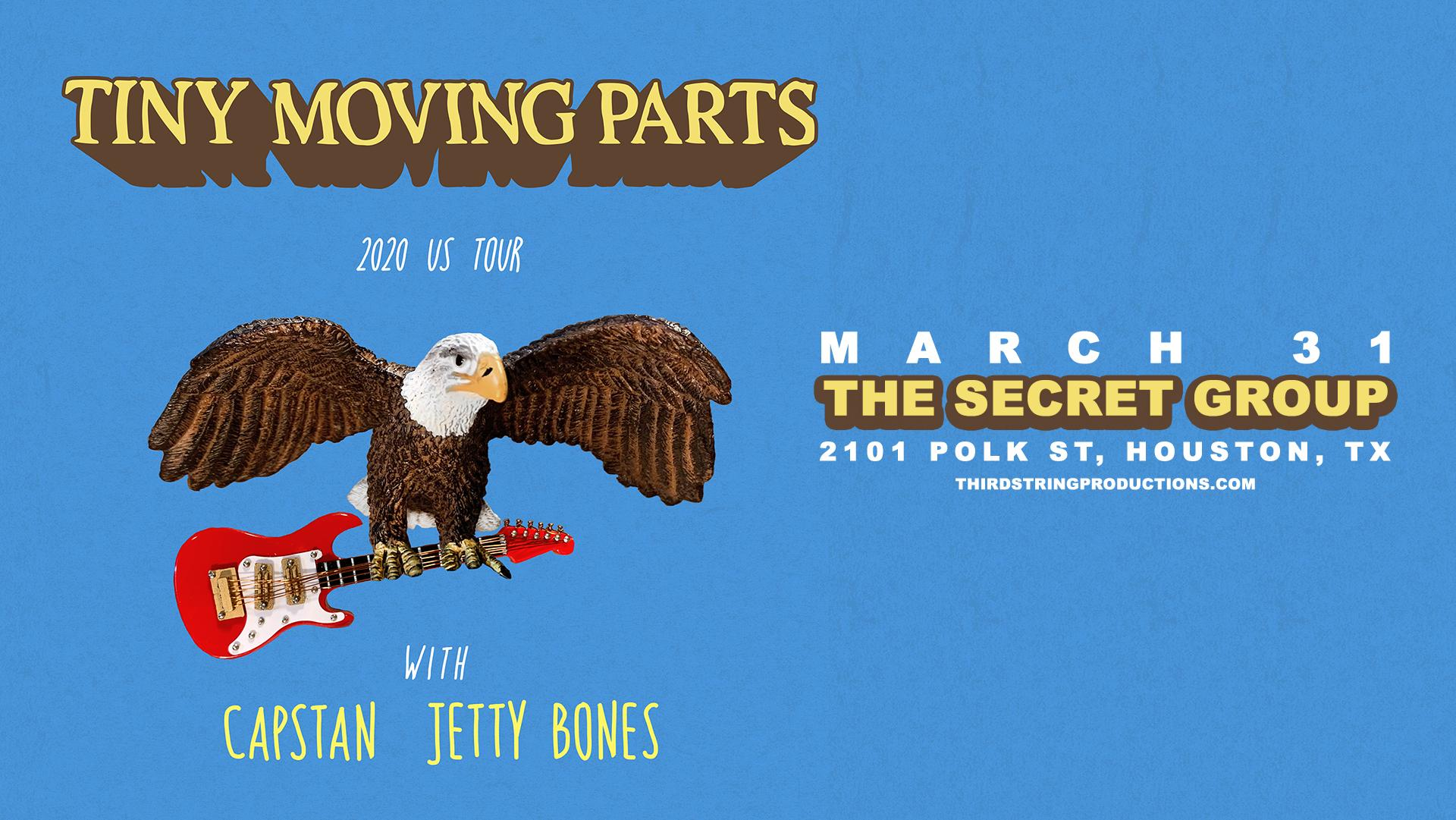 Tiny Moving Parts at The Secret Group