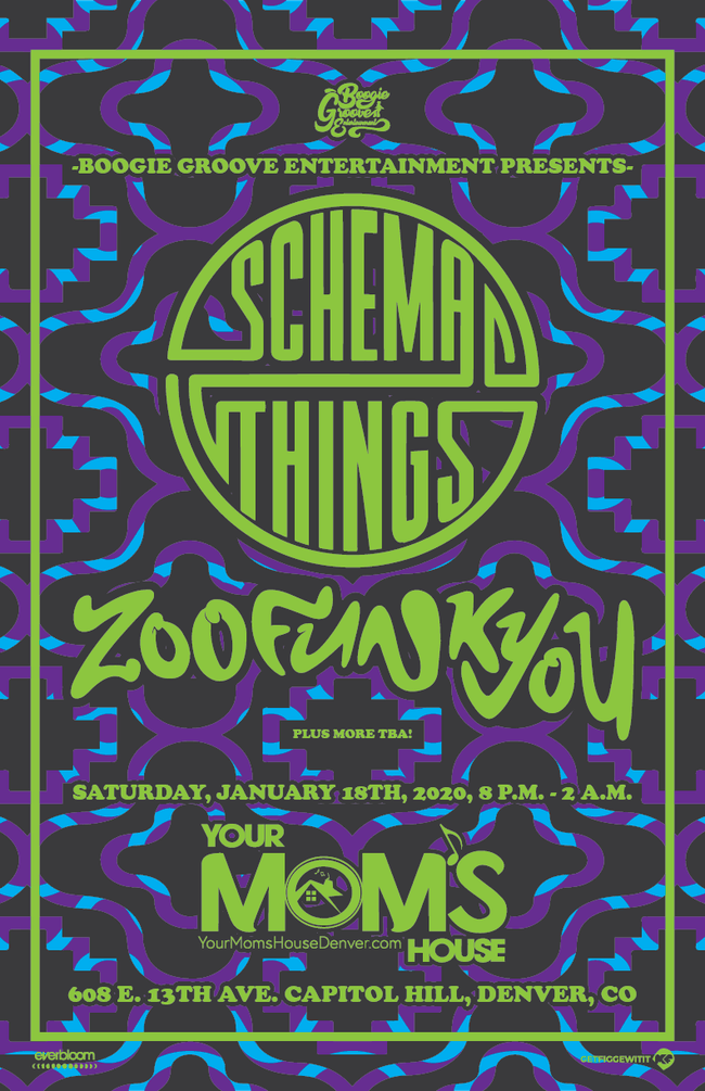 Schema Things & ZooFunkYou w/ Big Ol' Pony // More