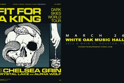 Fit For A King: Dark Skies Tour at White Oak Music Hall