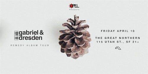 Opel presents Gabriel & Dresden : Remedy Album Tour