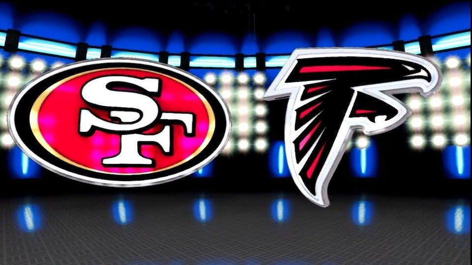 SF 49ers vs. Atlanta Falcons