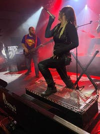 AVE IMPERATOR, COUP DE GRACE, CROWN OF CONTEMPT at LYRIC ROOM