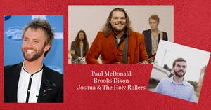 Paul McDonald w Brooks Dixon  and Special Guests Joshua & The Holy Rollers!