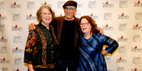Mollie O'Brien & Rich Moore and Mary Flower