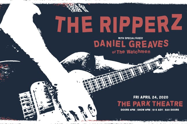 The Ripperz w/ Special Guest Danny Greaves of the Watchmen