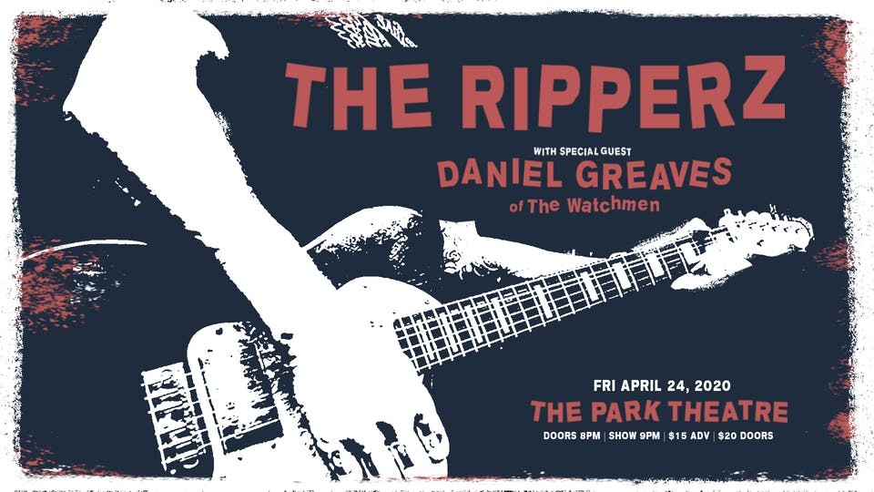 The Ripperz w/ Special Guest Danny Greaves of the