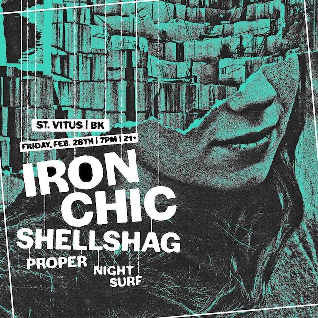 Iron Chic, Shellshag, Proper, Night Surf