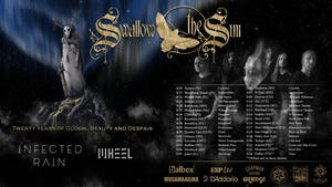 Swallow the Sun // Infected Rain // Wheel