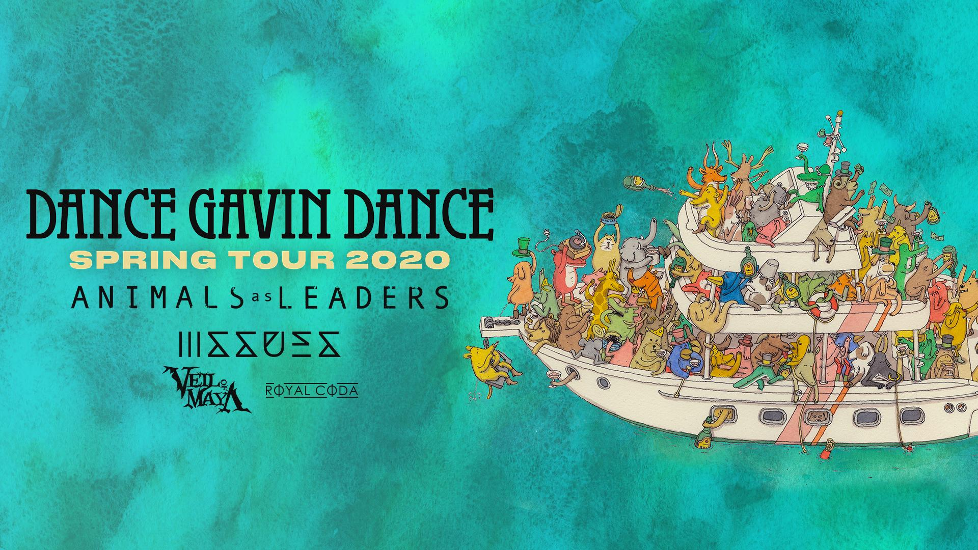 DANCE GAVIN DANCE - with Special Guest ISSUES