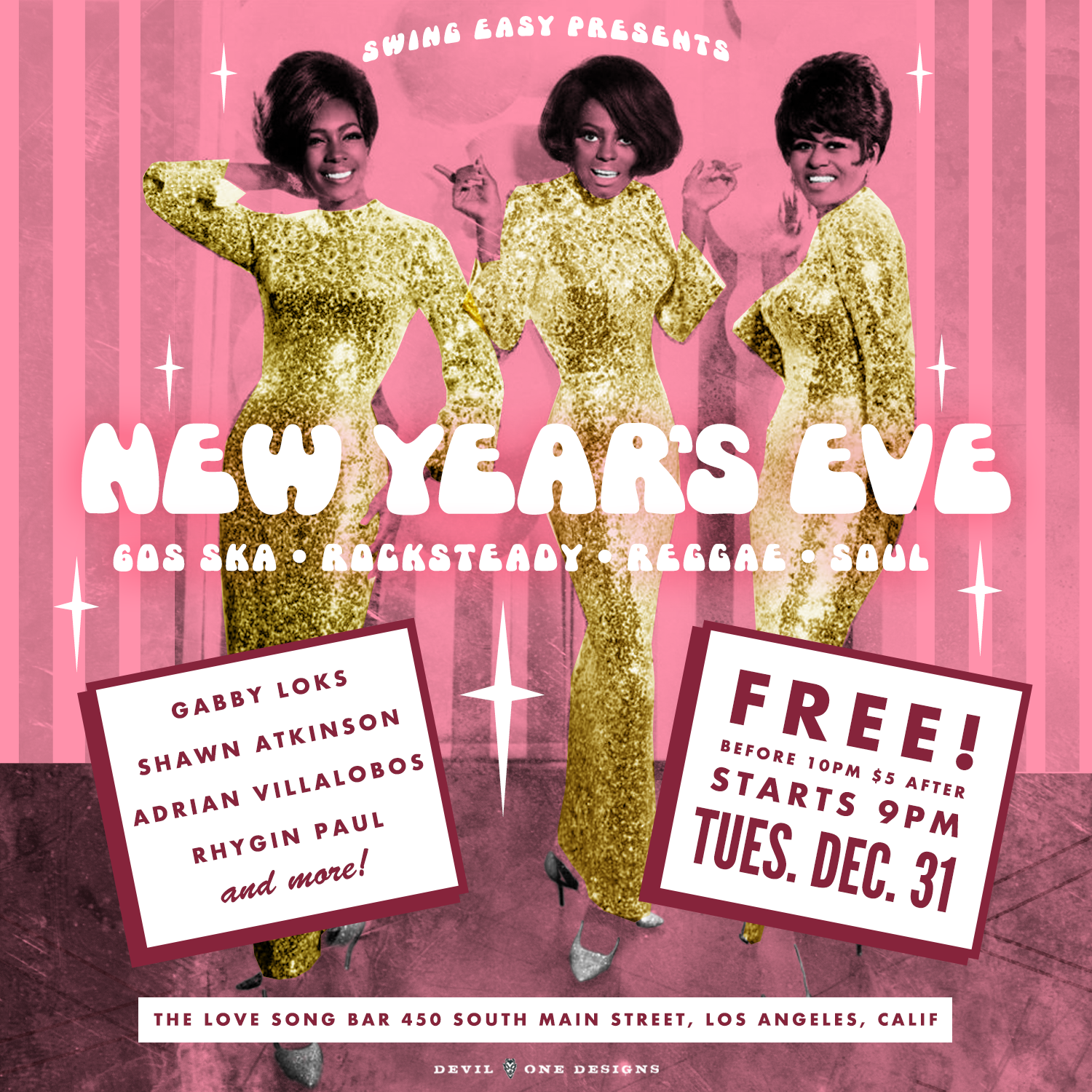 Swing Easy New Years Party!