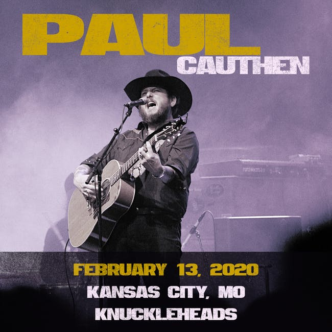 Paul Cauthen with special guest The Kernal