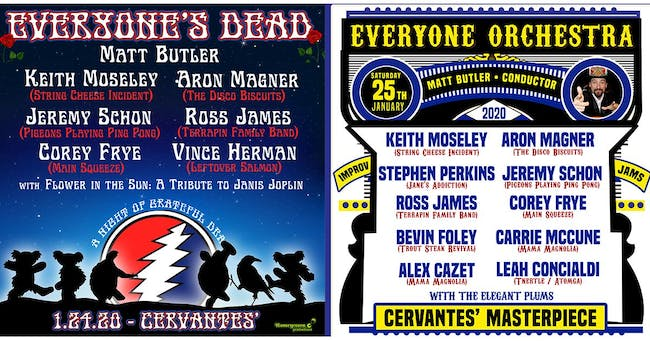 2-DAY PASS: Everyone's Dead (FRIDAY) & Everyone Orchestra (SATURDAY)