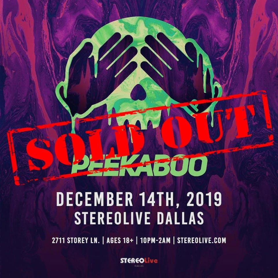 Peekaboo - Stereo Live Dallas