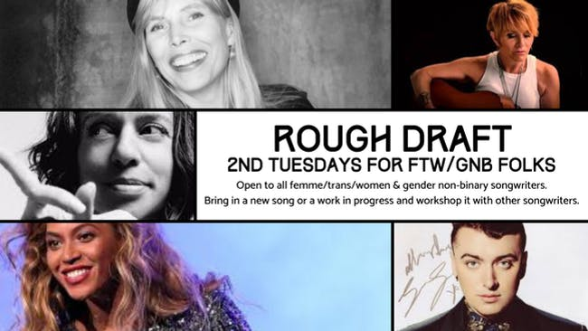 FTW/GNB Rough Draft Songwriter Night