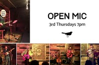 3rd Thursday Open Mic