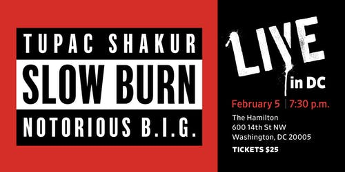 Slow Burn LIVE in DC
