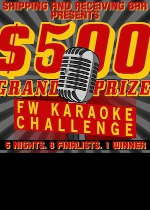 FWTX Karaoke Challenge GRAND FINALE!