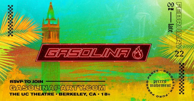 Gasolina: A Reggaeton Dance Party