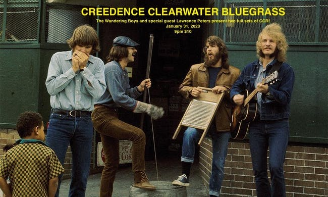 Creedence Clearwater Bluegrass!