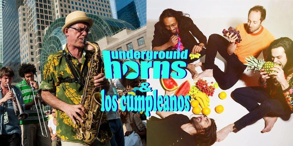Underground Horns & Los Cumpleanos