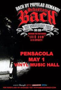 Sebastian Bach 31st Anniversary Tour