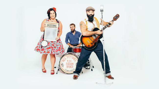 The Reverend Peyton's Big Damn Band  with the Flying Buffaloes