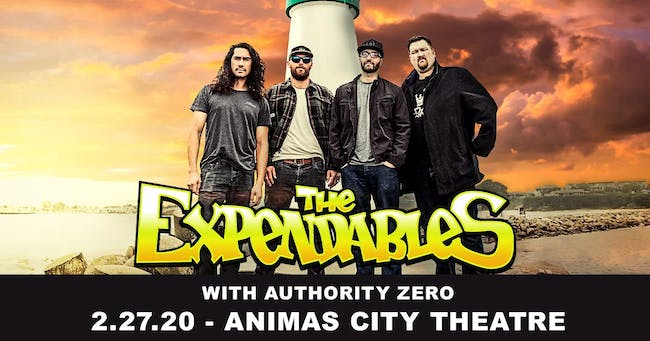The Expendables W/ Authority Zero SOLD OUT