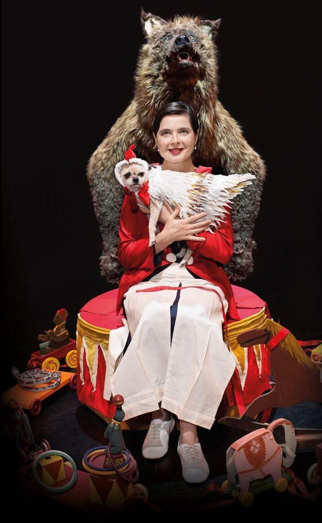 Link Link Circus by Isabella Rossellini
