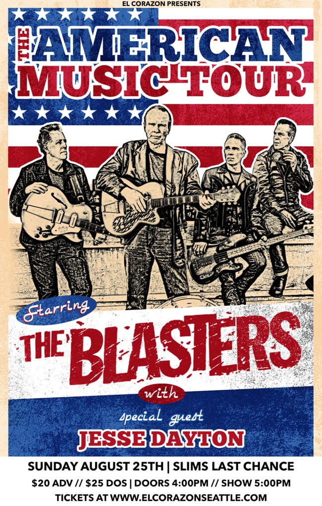 The Blasters at Slims Last Chance Saloon