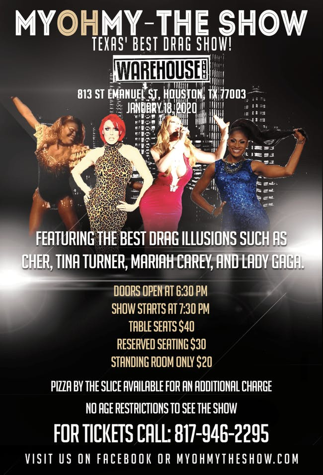MY OH MY  DRAG SHOW EXTRAVAGANZA
