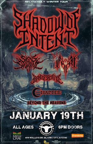 Shadow of Intent w/ Signs of the Swarm, Inferi & More