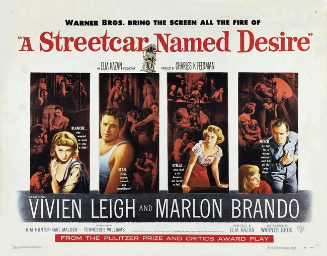 A Streetcar Named Desire (1951): Film Screening - Matinee