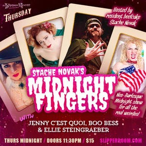 Stache Novak's Midnight Fingers