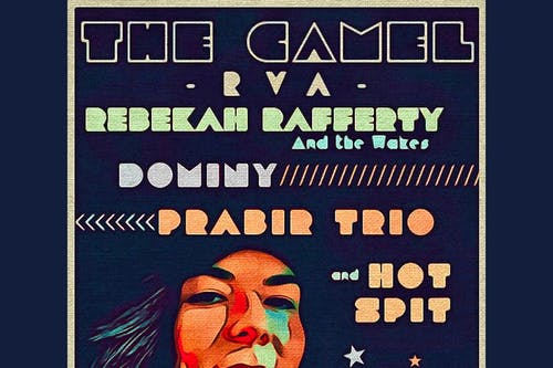 Rebekah Rafferty & the Wakes, Dominy, Prabir Trio, HotSpit