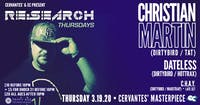 RE:Search ft. Christian Martin (Dirtybird) w/ Dateless, C.H.A.Y.