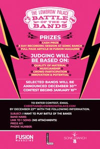 Battle of The Bands: Round 3