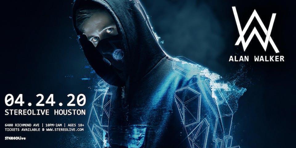 Alan Walker - Stereo Live Houston
