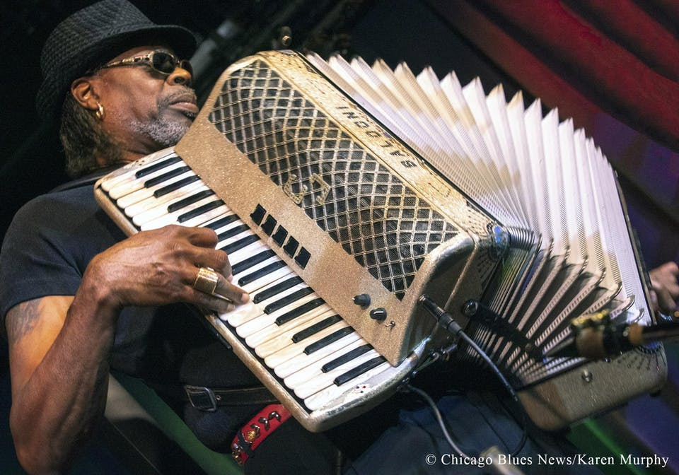 CJ Chenier and the Red Hot Louisiana Band • Zydeco Kings