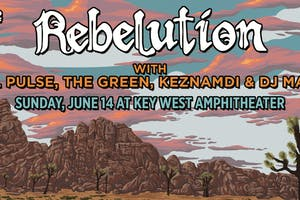 Rebelution w/ Steel Pulse, The Green, & Keznamdi at Key West Amphitheater