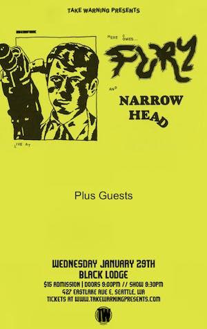 Fury, Narrow Head, Real at Black Lodge